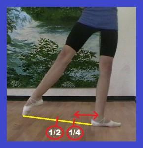 четвёртая часть полного открытия рабочей ноги