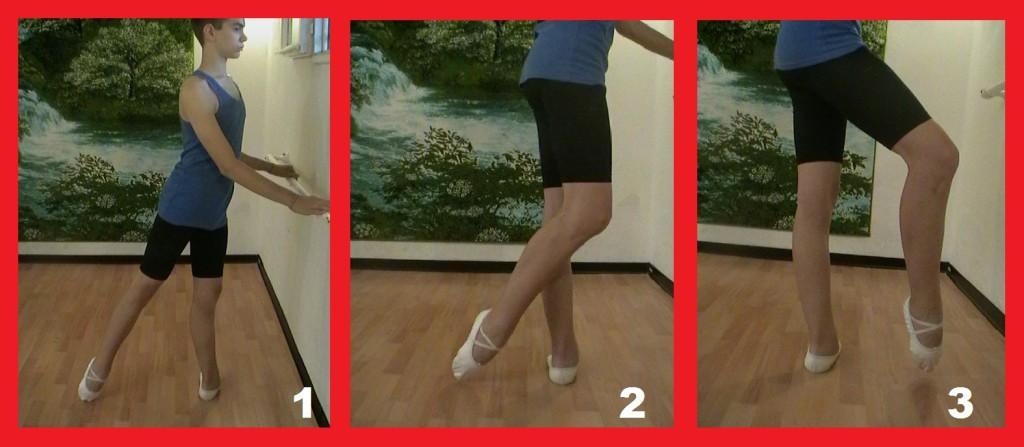 ошибки при движении ноги вперёд и назад