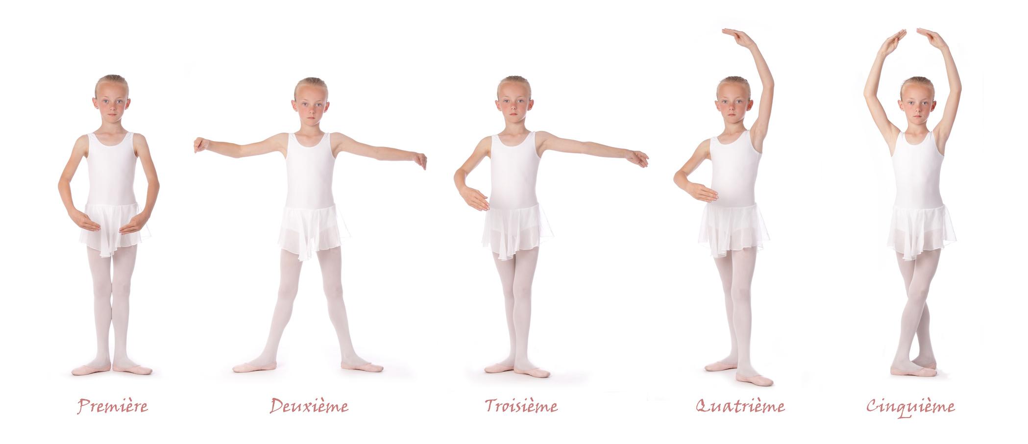 позиции в балете названия с картинками